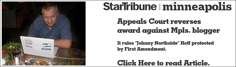 """Johnny Northside"" Hoff protected by First Amendment."