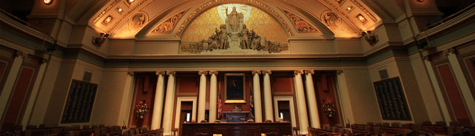 The House Chamber at the Minnesota State Capitol